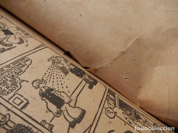 Tebeos: Páginas Cómicas Popeye el Marinero. Colección Audaz. Hispano Americana Ediciones S.A. Barcelona. - Foto 15 - 218414841