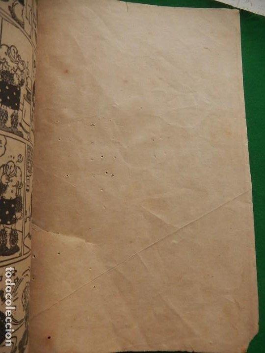 Tebeos: Páginas Cómicas Popeye el Marinero. Colección Audaz. Hispano Americana Ediciones S.A. Barcelona. - Foto 16 - 218414841