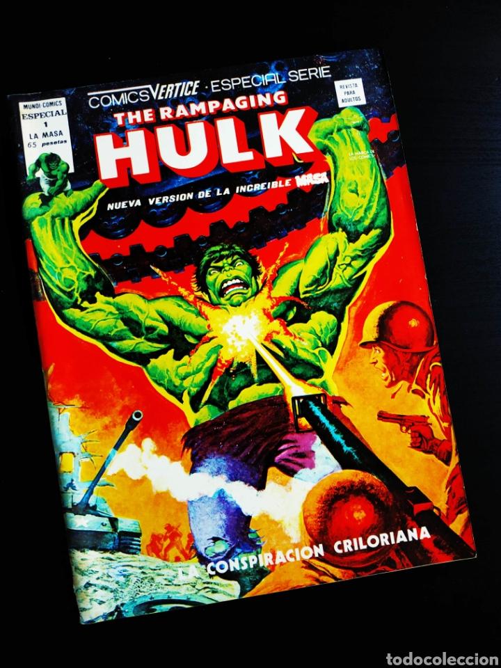 BUEN ESTADO THE RAMPAGING HULK 1 MUNDI COMICS VERTICE (Tebeos y Cómics - Números 1)