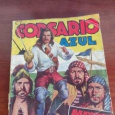 Tebeos: EL CORSARIO AZUL NÚMERO 1 AVENTUREROS DEL MAR POR J. LEÓN BARCELONA 1949. Lote 218772677