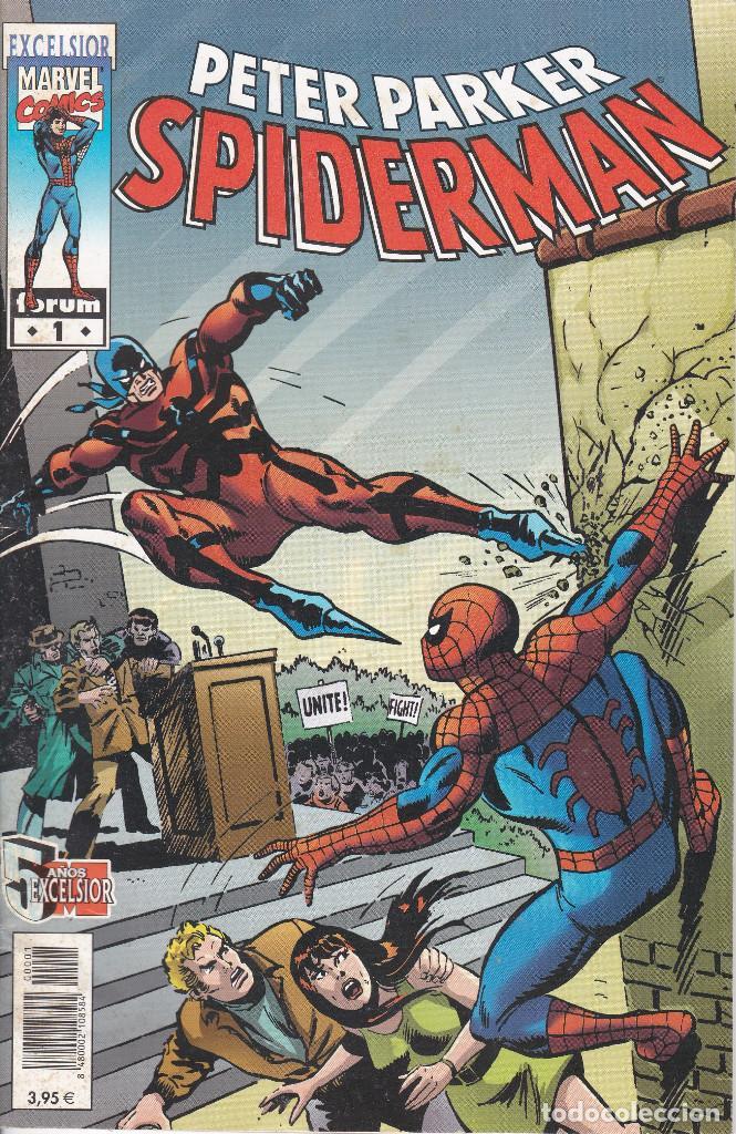 PETER PARKER, SPIDERMAN, MARVEL EXCELSIOR Nº 1 - FORUM - 2004 (Tebeos y Cómics - Números 1)
