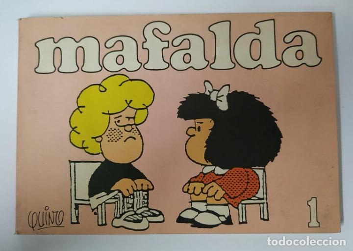MAFALDA 1 - EDICIONES DE LA FLOR - QUINO 1987 (Tebeos y Cómics - Números 1)