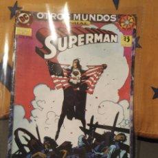 Livros de Banda Desenhada: COMIC SUPERMAN, OTROS MUNDOS, ANUAL NÚMERO 1, EDITORIAL ZINCO. Lote 220682111