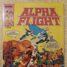 Livros de Banda Desenhada: ALPHA FLIGHT N°1 -FORUM-. Lote 220707565