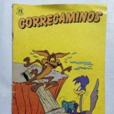 Tebeos: CORRECAMINOS, Nº 1, EDICIONES ZINCO. Lote 221661365