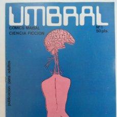 Tebeos: UMBRAL Nº 1 - COMICS MAISAL (SIN USAR, DE DISTRIBUIDORA). Lote 221921547