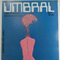 Tebeos: UMBRAL Nº 1 - COMICS MAISAL (SIN USAR, DE DISTRIBUIDORA). Lote 221934530