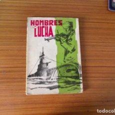Tebeos: HOMBRES DE LUCHA Nº 1 EDITA BOIXHER. Lote 222627113