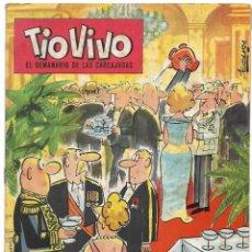 Tebeos: TIO VIVO Nº 1 BRUGUERA 1958, ORIGINAL, BUEN ESTADO-- LEER DESCRIPCION Y VER FOTOS. Lote 222914140