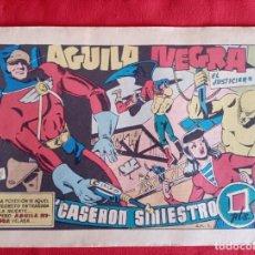 Tebeos: COMIC AGUILA NEGRA EL JUSTICIERO N°1. Lote 223064853