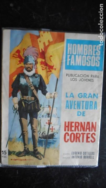 HOMBRES FAMOSOS: HERNAN CORTÉS Nº 1 (Tebeos y Cómics - Números 1)