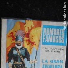 Tebeos: HOMBRES FAMOSOS: HERNAN CORTÉS Nº 1. Lote 223786791