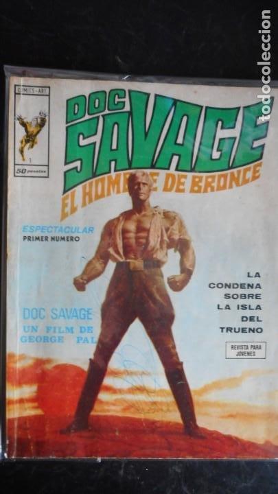DOC SAVAGE . EL HOMBRE DE BRONCE Nº 1 (Tebeos y Cómics - Números 1)