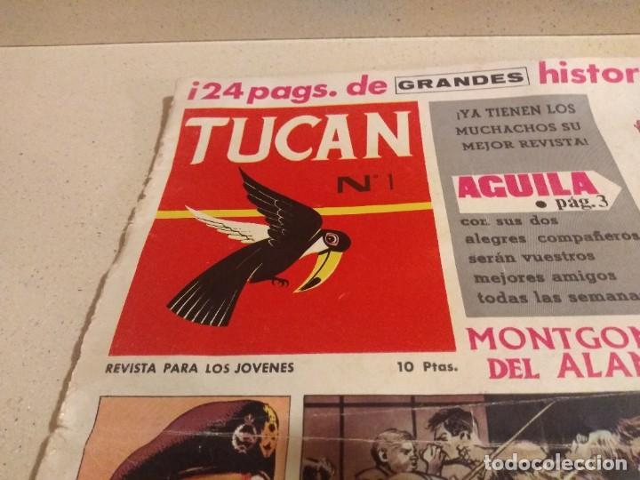 Tebeos: Magnífico Numero 1 Revista Tucan año 1957 de Rollán - Foto 2 - 224779788