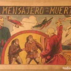 Tebeos: LAS AVENTURAS DE RIC Y ROB Nº 1 EL MENSAJERO DE LA MUERTE HISPANO AMERICANA 1945 JUCO C:D: SABADELL. Lote 224996485