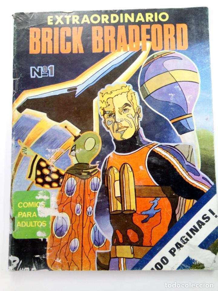 EXTRAORDINARIO BRICK BRADFORD Nº 1 - EDICIONES MAISAL (Tebeos y Cómics - Números 1)