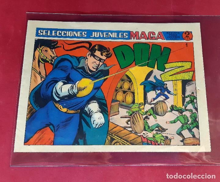 DON Z - Nº 1- 2ª EDICIÓN - EDITORIAL MAGA 1964- EXCELENTE ESTADO (Tebeos y Cómics - Números 1)