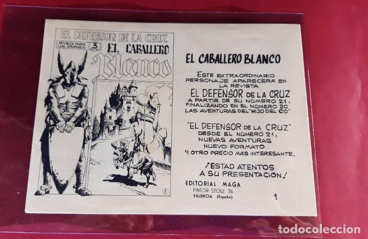 Tebeos: Don Z - Nº 1- 2ª Edición - Editorial Maga 1964- EXCELENTE ESTADO - Foto 2 - 226894760