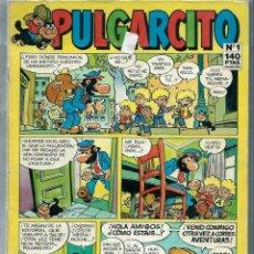Tebeos: PULGARCITO Nº 1 - EDICIONES B 1987 - CON NUEVAS AVENTURAS DEL BOTONES SACARINO. Lote 227625380