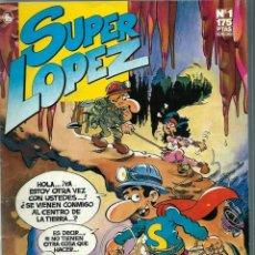 Tebeos: SUPER LOPEZ Nº 1 - EDICIONES B 1987 - CON NUEVAS AVENTURAS DE SUPERLOPEZ, DE JAN. Lote 227625520