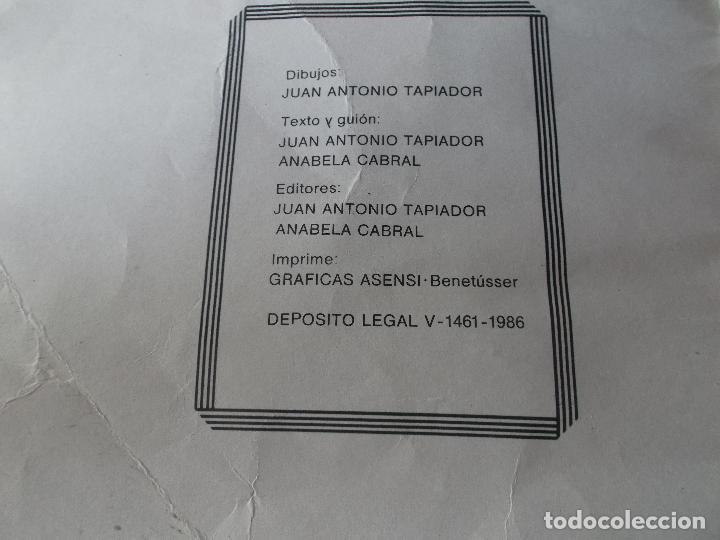 Tebeos: PLACERES PROHIBIDOS Nº1- Vil Traicion - JUAN ANTONIO TAPIADOR 1986 // BIZARRO COMIC NAIF SADO BDSM - Foto 4 - 227713915