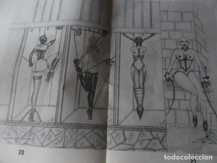 Tebeos: PLACERES PROHIBIDOS Nº1- Vil Traicion - JUAN ANTONIO TAPIADOR 1986 // BIZARRO COMIC NAIF SADO BDSM - Foto 5 - 227713915