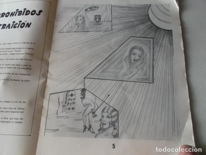 Tebeos: PLACERES PROHIBIDOS Nº1- Vil Traicion - JUAN ANTONIO TAPIADOR 1986 // BIZARRO COMIC NAIF SADO BDSM - Foto 7 - 227713915
