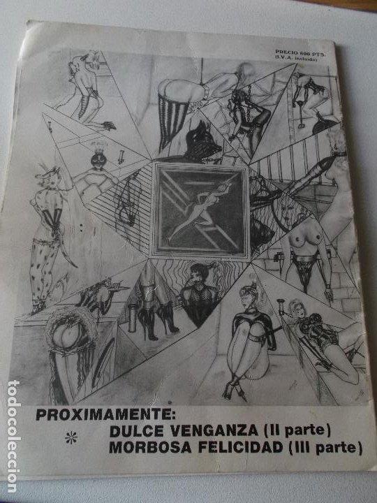 Tebeos: PLACERES PROHIBIDOS Nº1- Vil Traicion - JUAN ANTONIO TAPIADOR 1986 // BIZARRO COMIC NAIF SADO BDSM - Foto 9 - 227713915