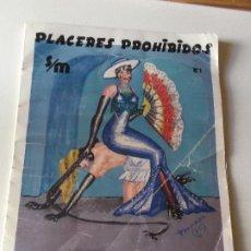 Tebeos: PLACERES PROHIBIDOS Nº1- VIL TRAICION - JUAN ANTONIO TAPIADOR 1986 // BIZARRO COMIC NAIF SADO BDSM. Lote 227713915