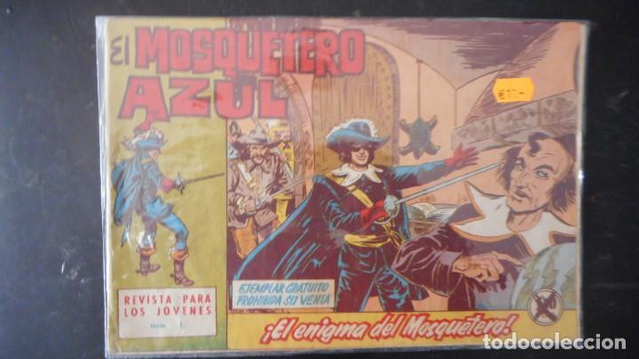 MOSQUETERO AZUL Nº 1 (Tebeos y Cómics - Números 1)