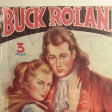 Tebeos: BUCK ROLAND NOVELA EJEMPLAR N 1 AÑO 1945. Lote 229127680