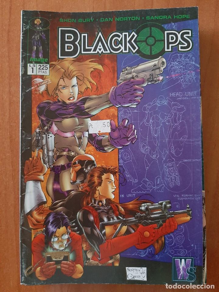 Nº 1 BLACK OPS (Tebeos y Cómics - Números 1)