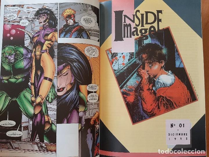 Tebeos: Nº 1 IMAGEPLUS incluye INSIDE MAGEL - Foto 2 - 229759750
