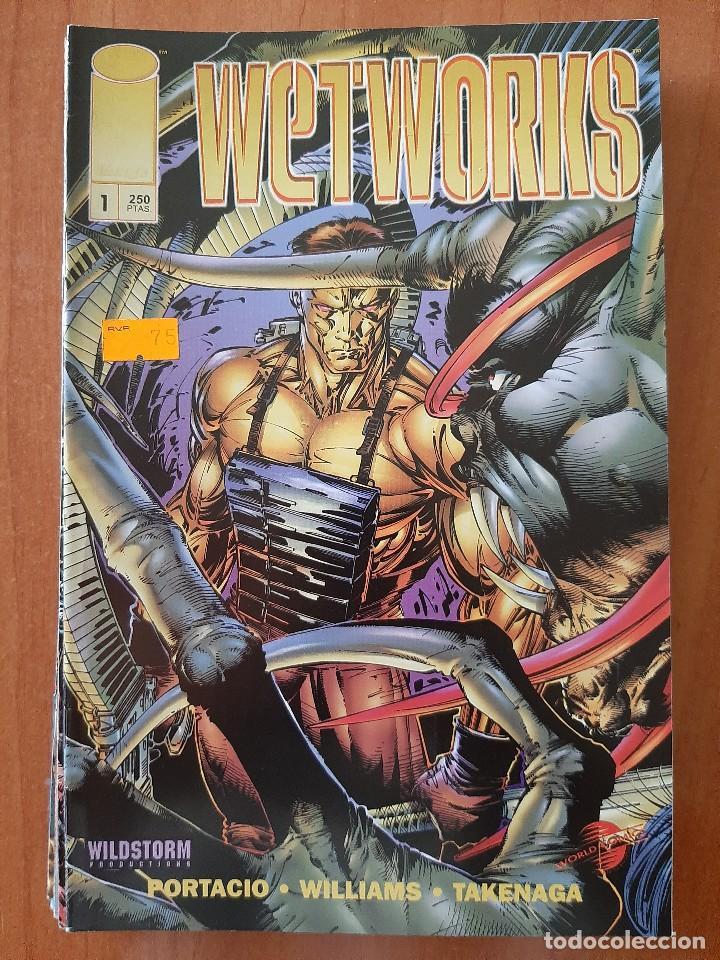 Nº 1 WETWORKS (Tebeos y Cómics - Números 1)