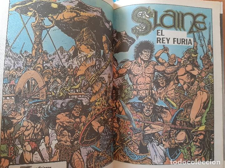 Tebeos: Nº 1 SLAINE : EL REY FURIA - Foto 2 - 229760410