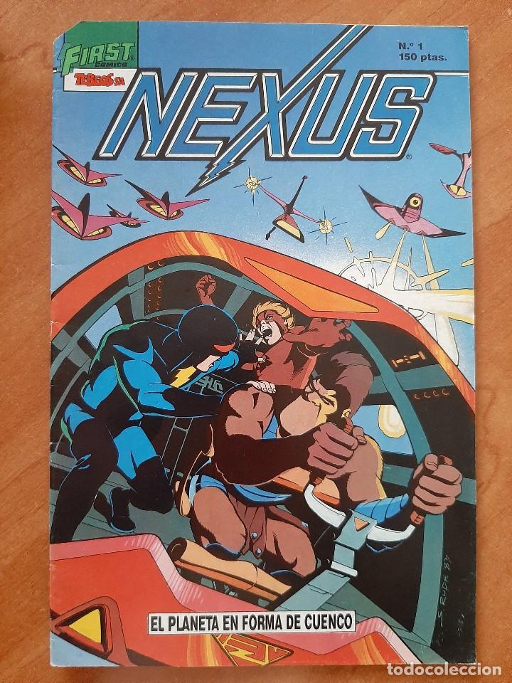 Nº 1 NEXUS (Tebeos y Cómics - Números 1)