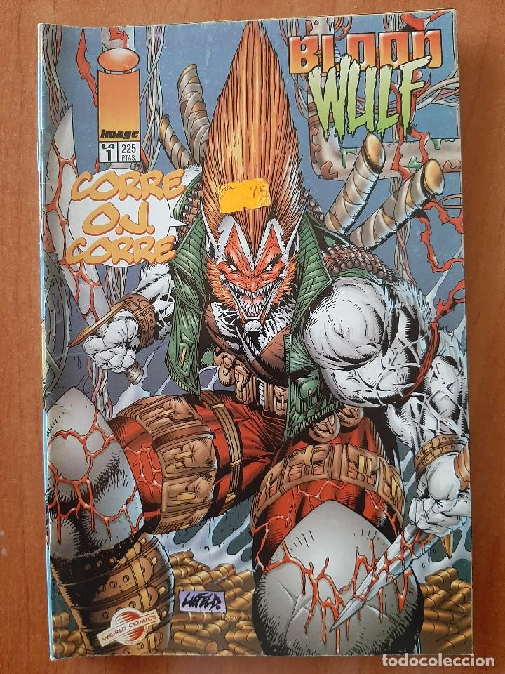 Nº 1 BLOOD WULF (Tebeos y Cómics - Números 1)