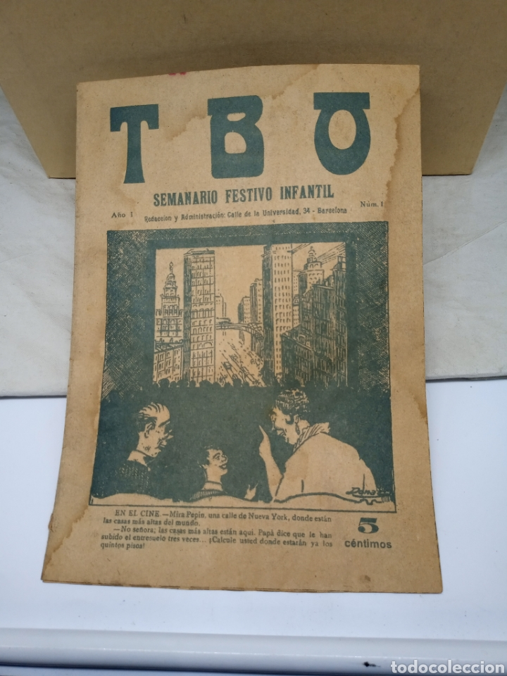 TBO PRIMER EJEMPLAR DE LA EDITORIAL AÑO 1917 (Tebeos y Cómics - Números 1)