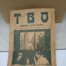 Giornalini: TBO PRIMER EJEMPLAR DE LA EDITORIAL AÑO 1917. Lote 230948440