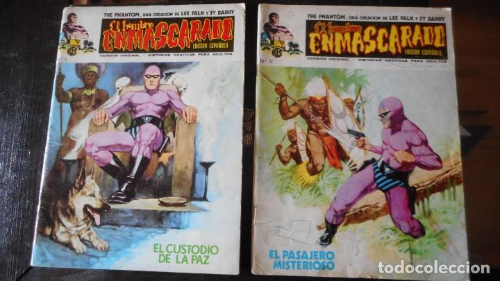 EL HOMBRE ENMASCARADO Nº 1 Y 2 (Tebeos y Cómics - Números 1)
