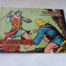 Tebeos: JUSTICIERO NEGRO Nº 1 ORIGINAL. Lote 231818740