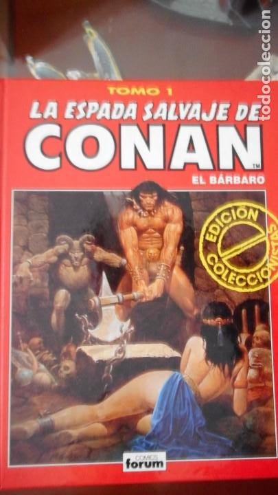 LA ESPADA SALVAJE DE CONAN (COLECCIONISTAS) TOMO 1 (Tebeos y Cómics - Números 1)