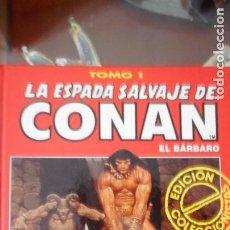 Tebeos: LA ESPADA SALVAJE DE CONAN (COLECCIONISTAS) TOMO 1. Lote 233445535