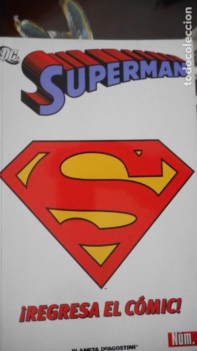 SUPERMAN Nº 1 (PLANETA) (Tebeos y Cómics - Números 1)