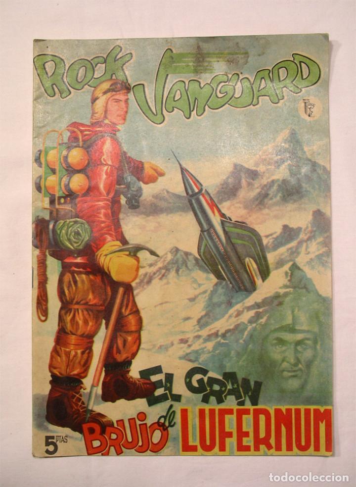 ROCK VANGUARD Nº 1 EL GRAN BRUJO DE LUFERNUM. EDITORIAL ROLLÁN 1958 (Tebeos y Cómics - Números 1)