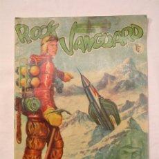 Tebeos: ROCK VANGUARD Nº 1 EL GRAN BRUJO DE LUFERNUM. EDITORIAL ROLLÁN 1958. Lote 233504250