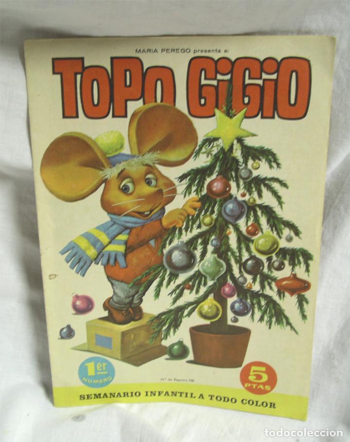 TOPO GIGIO Nº 1 (Tebeos y Cómics - Números 1)