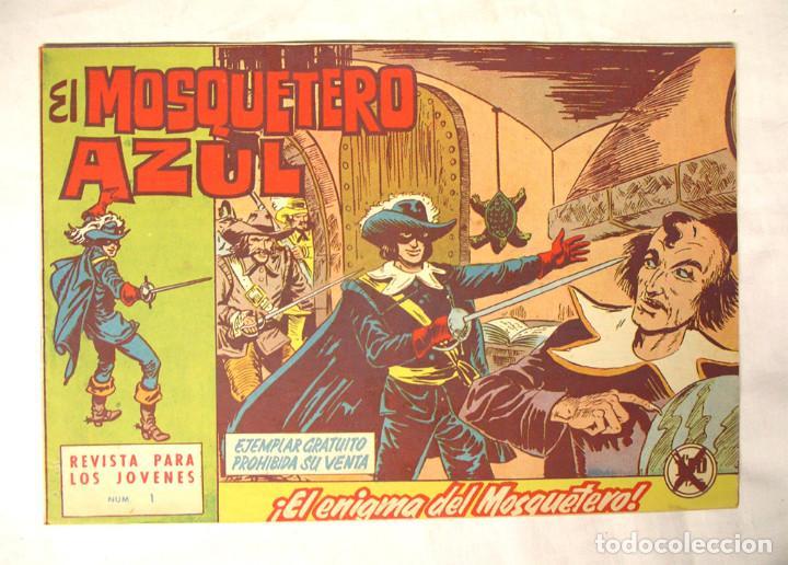 EL MOSQUETERO AZUL Nº 1 ORIGINAL AÑO 1962 (Tebeos y Cómics - Números 1)