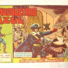 Tebeos: EL MOSQUETERO AZUL Nº 1 ORIGINAL AÑO 1962. Lote 233504530