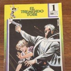 Tebeos: EL TREMENDO TOBI Nº 1 (ESPALLARDO, 1989). Lote 234296750